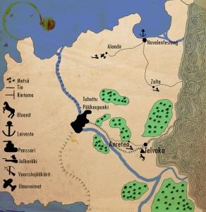 Tässä Weltkrieg kartta